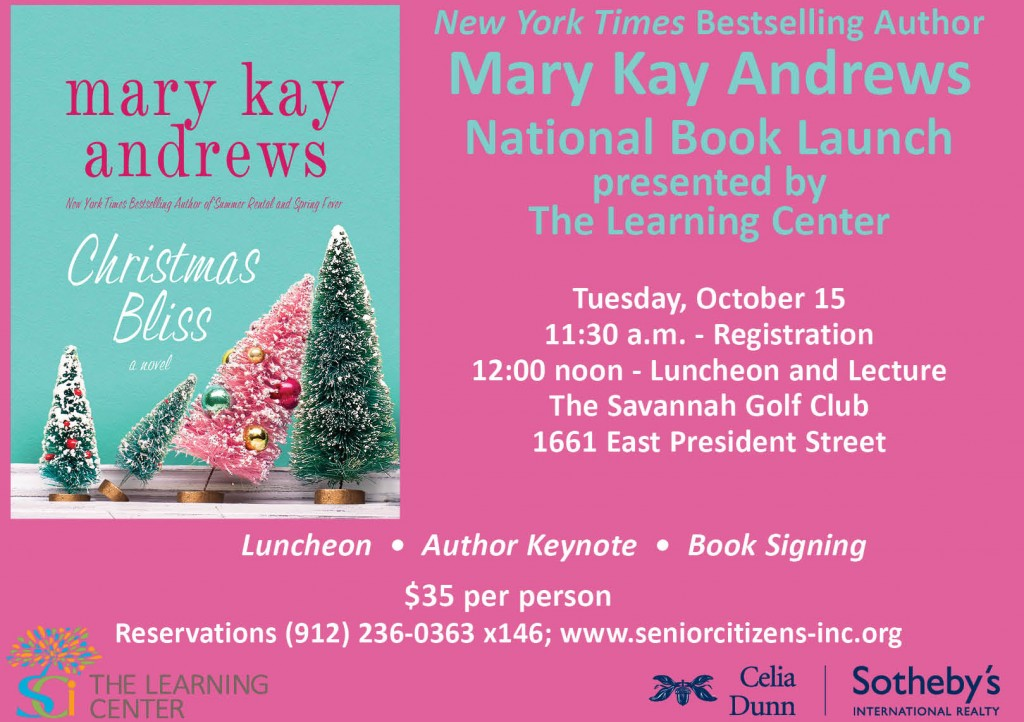 Mary Kay Andrews Book Launch