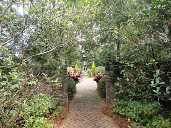 Savannah GA historical gardens
