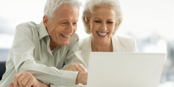 Seniors Enjoy being Online
