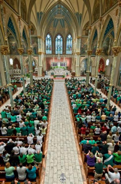 St. Patrick's Day Mass Savannah Senior Faith