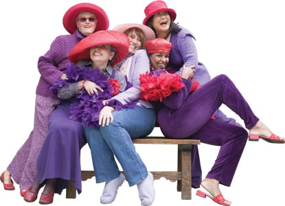 Red Hat Society Savannah Area