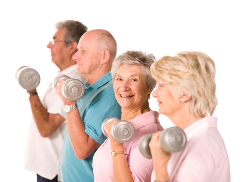 Senior fitness Coastal Georgia e